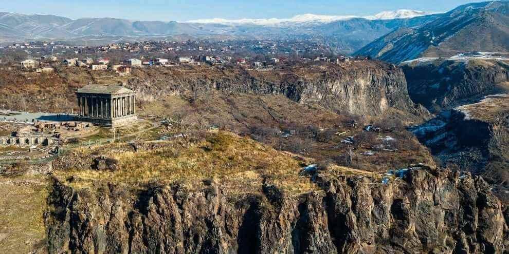 Храм Гарни, долина реки Азат