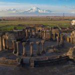 Звартноц - Храм бдящих ангелов и Небесных Сил