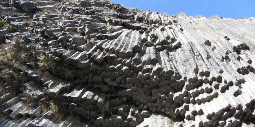 Симфония камней, ущелье Гарни, Армения