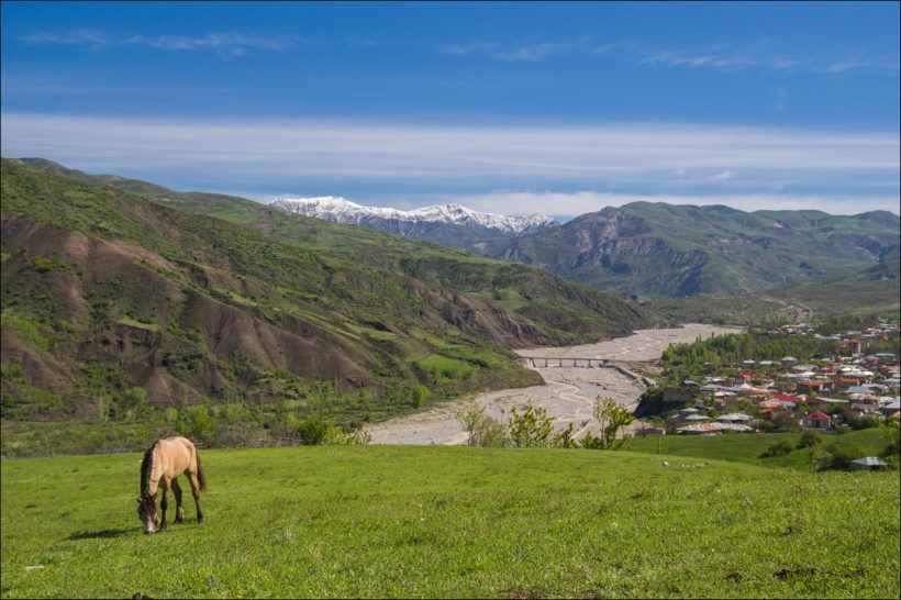 Горные пейзажи Азербайджана