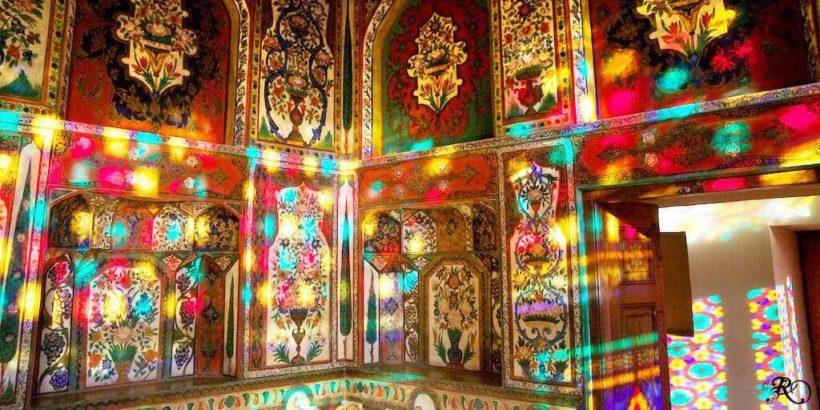 Дворец шекинских ханов в городе Шеки, Азербайджан