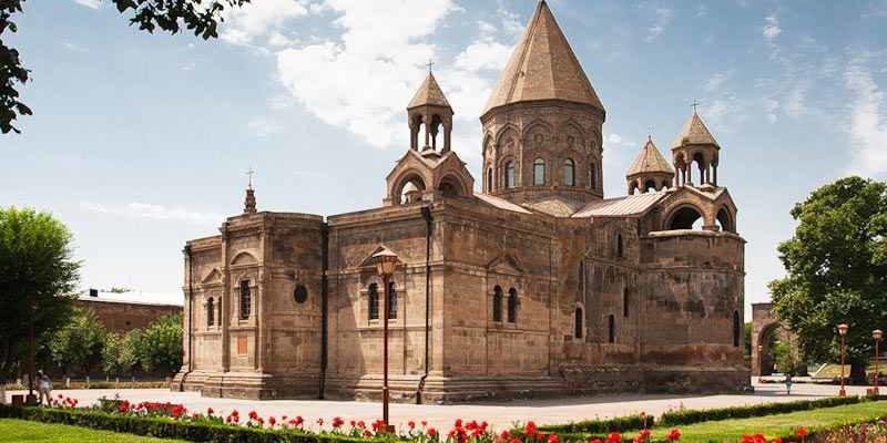 Кафедральный собор Эчмиадзин в Армении