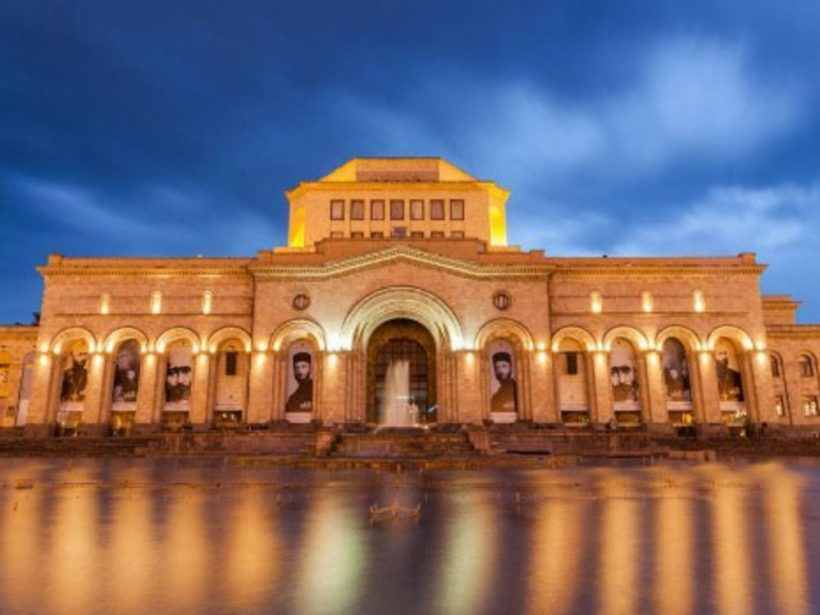 Музей истории Армении на площадеи Республики, Ереван, Армения