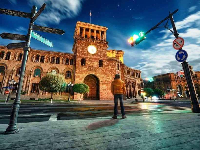 Вечерний Ереван, Армения