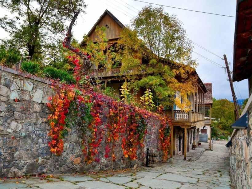 Город Дилижан в Армении