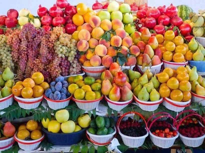 Фруктовый рынок в Ереване