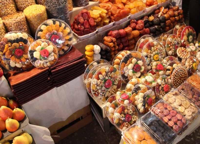 Сухофрукты из Армении