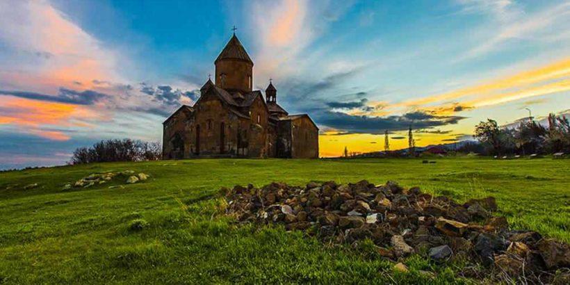 Монастырь Сагмосаванк в Армении