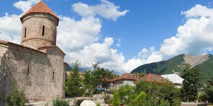 Христианская церковь в деревне Киш, Азербайджан