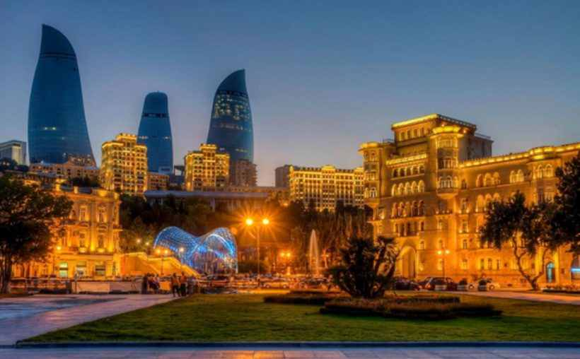 азербайджан, баку, старый город, ичери шехер, обзорная экскурсия по баку, туры в азербайджан