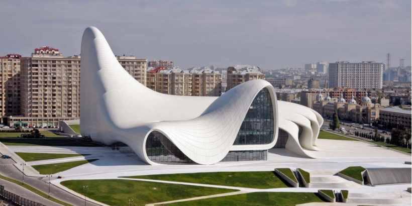 Центр Гейдара Алиева – Культурный центр, построенный на проспекте Гейдара Алиева в столице Азербайджана