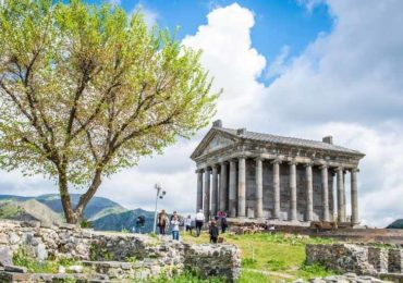 армения, гарни, языческий храм, достопримечательности армении, туры в армению, симфония камней