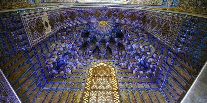 Мавзолей Тамерлана (Амира Тимура) в Самарканде, Узбекистан