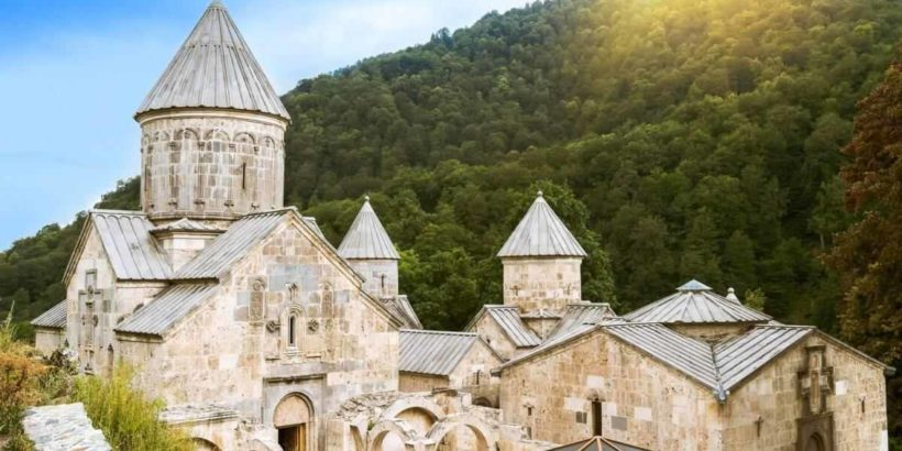Монастырь Агарцин в Армении
