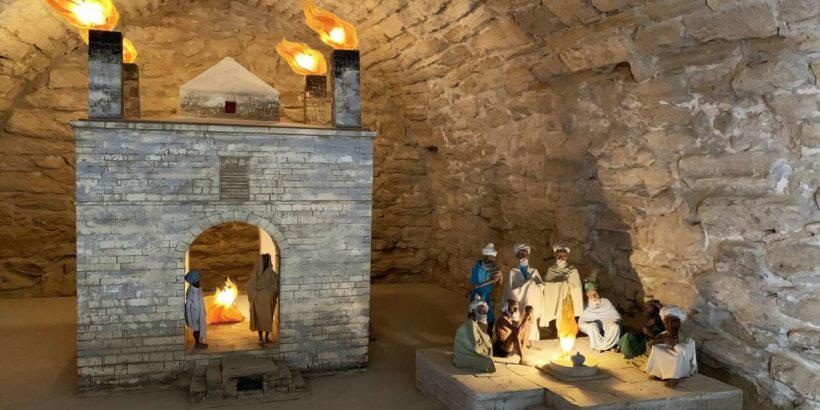 Храм Атешгях в Азербайджане