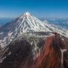 Авачинский вулкан на Камчатке