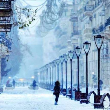 азербайджан, баку, зимний тур, новый год в баку, туры в азербайджан
