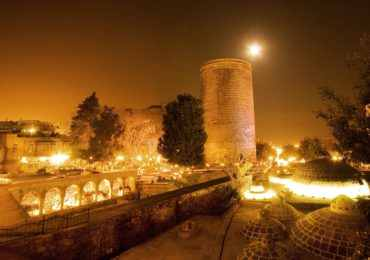 азербайджан, баку, девичья башня, старый город баку, ичери шехер, туры в азербайджан, обзорная экскурсия по баку