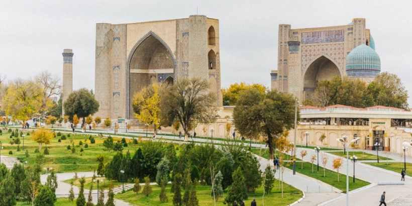 Мечеть Биби-Ханым в Самарканде, воздвигнута по приказу Тамерлана