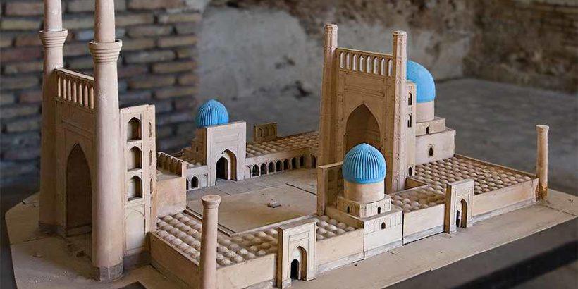 Мечеть Биби Ханум в Самарканде, Узбекистан