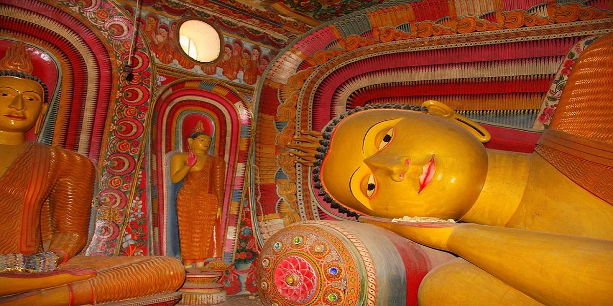 Храм Будды на Шри-Ланке