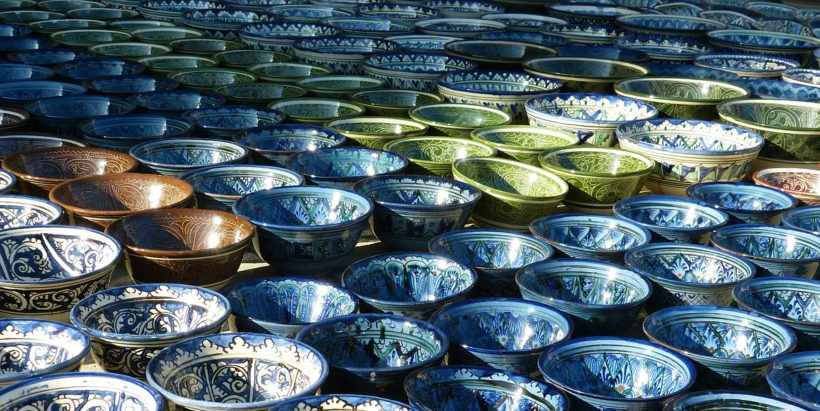 Керамика, Глина, Орнамент, узбекистан