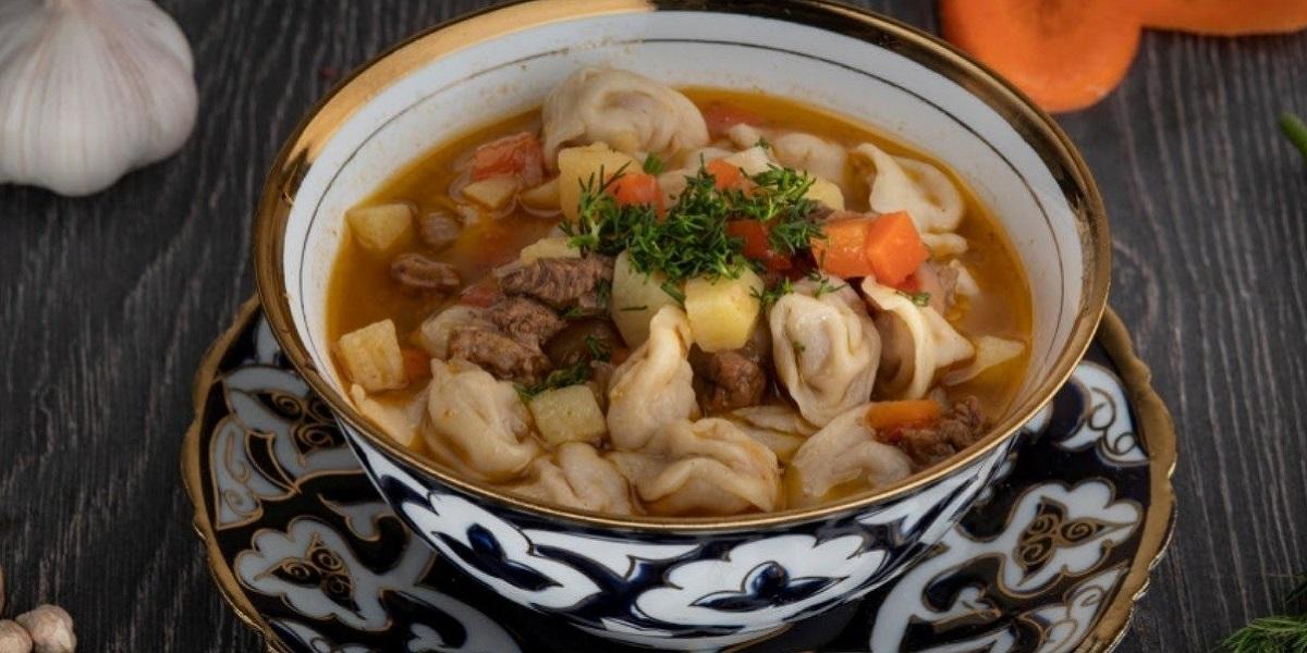 Чучвара. Кухня Узбекистана.