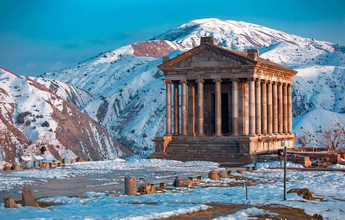 Картинки по запросу зима в армении