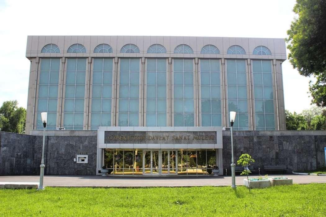 государственный музей искусств узбекистана - фото здания