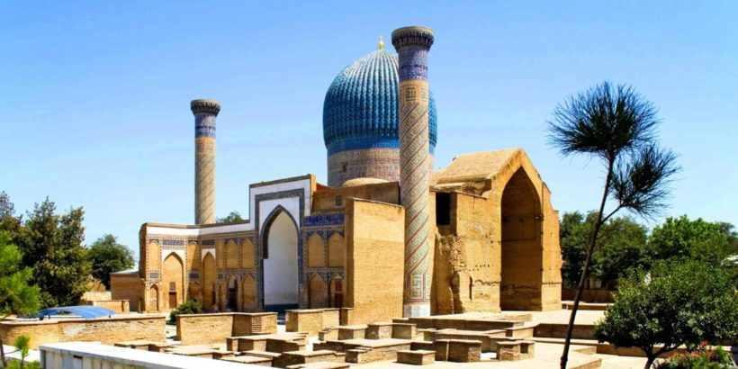 Мавзолей Гур-Эмир в Самарканде, Узбекистан