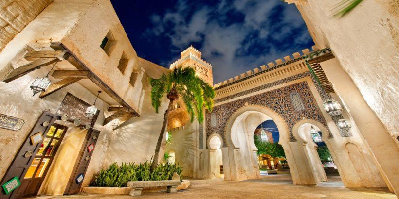 Epcot – Morocco at Night