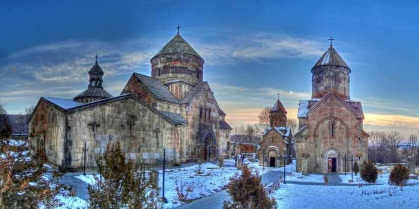 Монастырский комплекс Кечарис в Армении