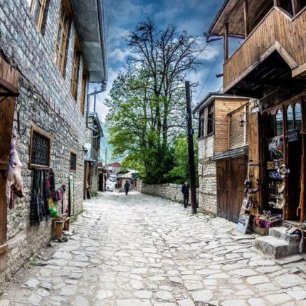 Селение Лагич в Азербайджане