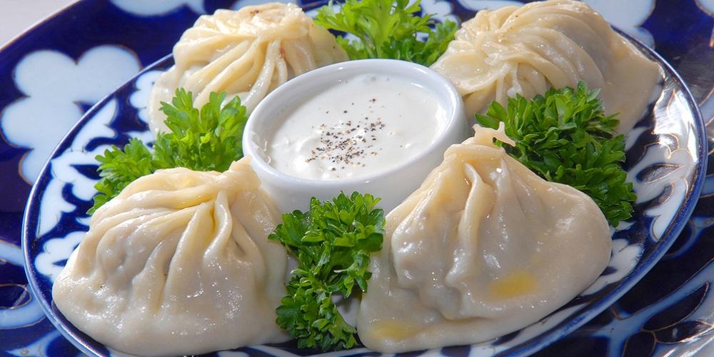 Манты. Кухня Узбекистана.