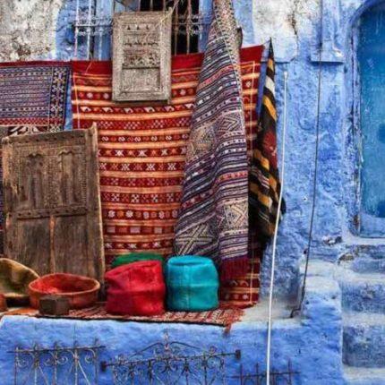 Голубой город Шефшауен в Марокко