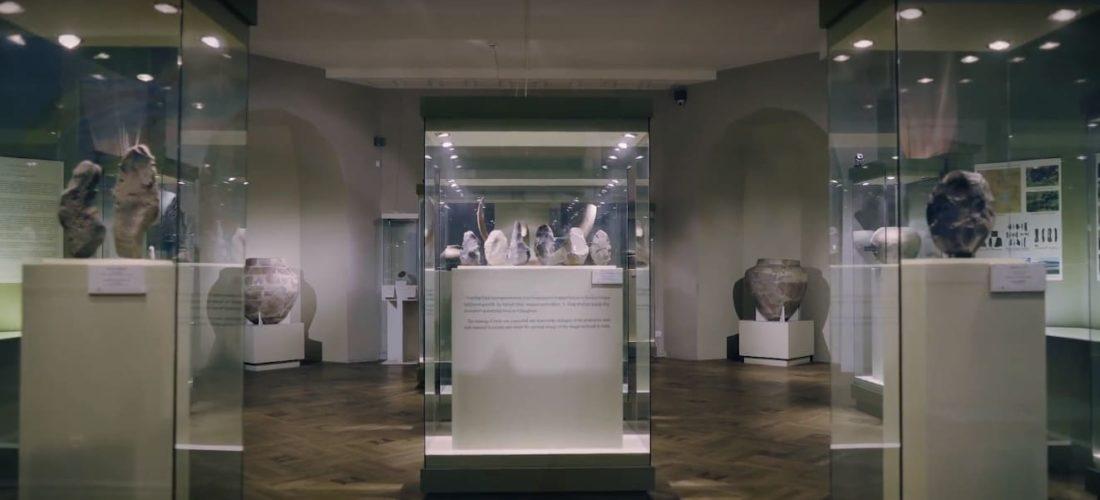 древние экспонаты музея истории армении