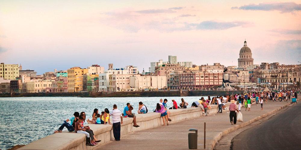 Набережная Малекон, Гавана, Куба