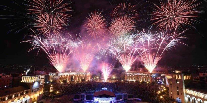 Новый год в Ереване, Армения