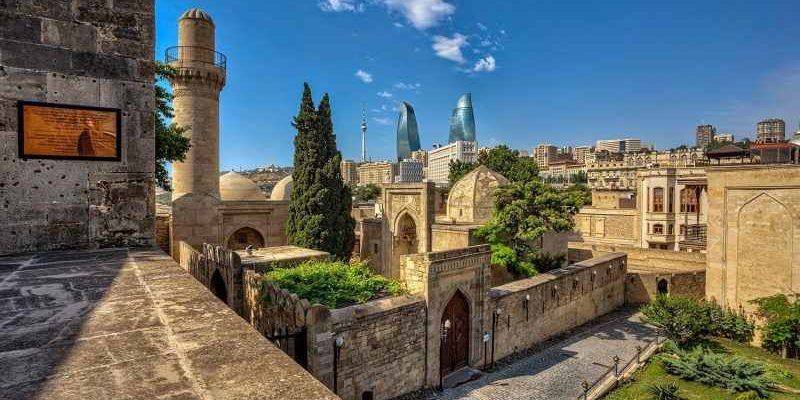 Старый город (Ичери шехер) Баку, Азербайджан