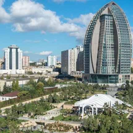 азербйджан, баку, парк любви, туры в азербайджан