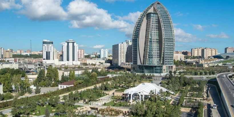 Парк любви в Баку