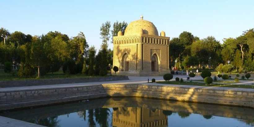 Мавзолей Саманидов памятник раннесредневековой архитектуры, расположенный в историческом центре Бухары