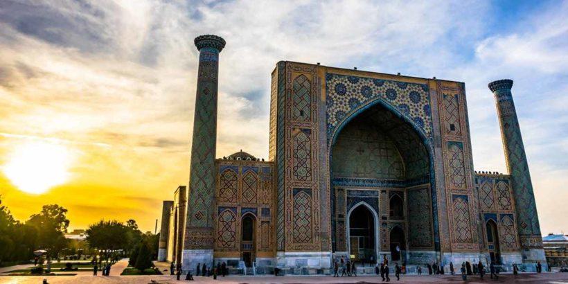 Самарканд – древний город в Узбекистане