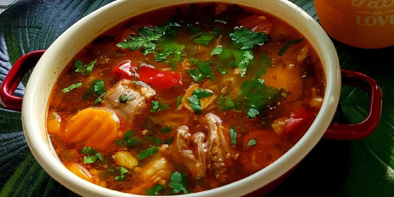 Шурпа. Кухня Узбекистана.