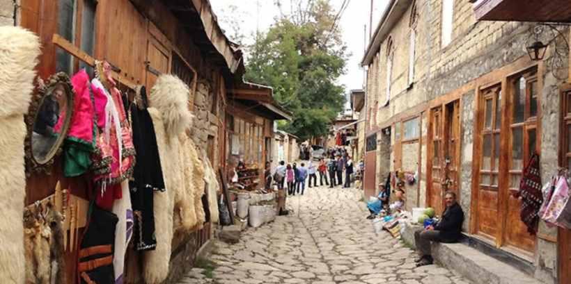 Лагич – высокогорный поселок в Азербайджане