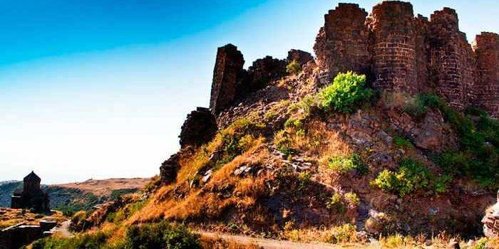 Крепость Амберд в Армении