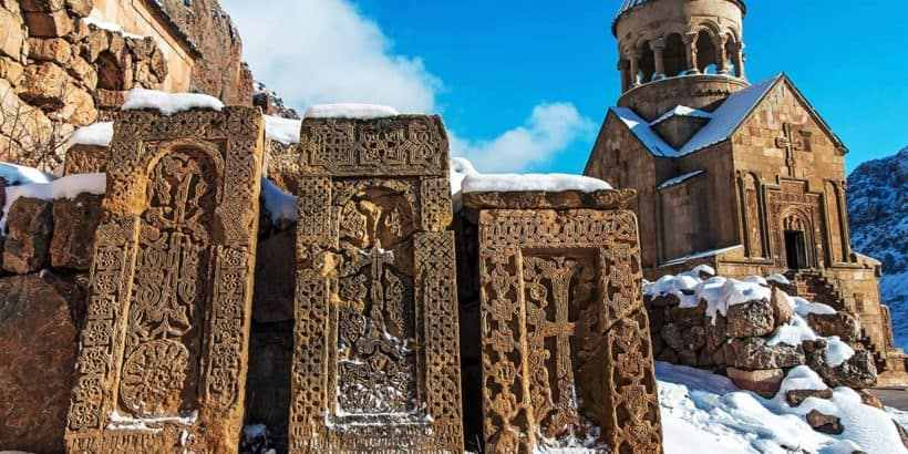 Зимняя Армения